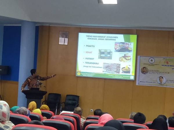 Seminar Nasional dan Pameran Produk Pasca Panen Unggulan Daerah